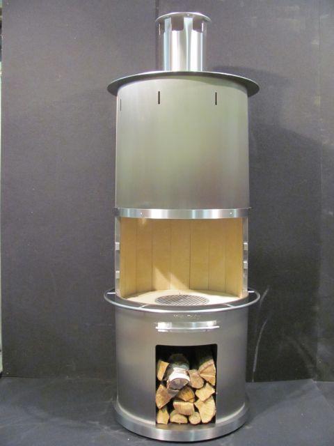 grillkamin hirst design typ 2 edelstahl. Black Bedroom Furniture Sets. Home Design Ideas